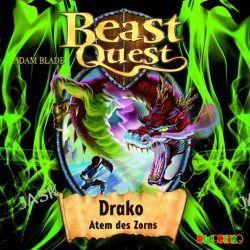 Hörbuch: Beast Quest: Drako, Atem Des Zorns Von Adam Blade, Audiobooki w języku niemieckim <JASK>