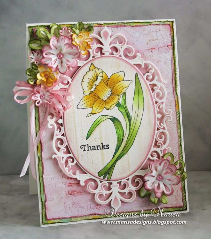 Скрапбукинг открытки спасибо