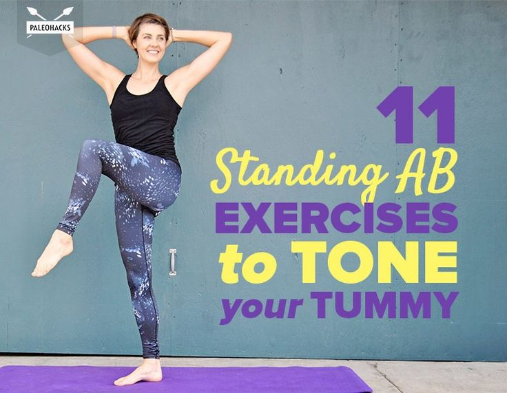 Best 25 Standing Ab Exercises Ideas On Pinterest Belly