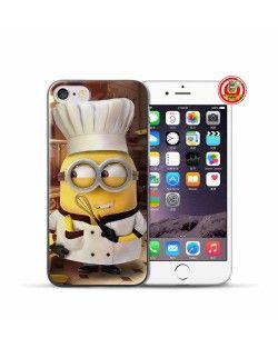 FUNDA CHEF MINION COCINERO. Fundas Minion para iPhone 7, 7 Plus  #Minions #DespicableMe #Gru #MiVillanoFavorito #iPhone7 #iPhone7Plus #iPhoneCase #FundasiPhone #Carcasas  www.FundasiPhoneBaratas.com