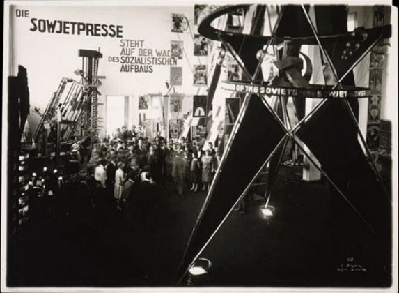 El Lissitzky's Soviet pavilion at the Pressa exhibition in Cologne, 1928 | The Charnel-House