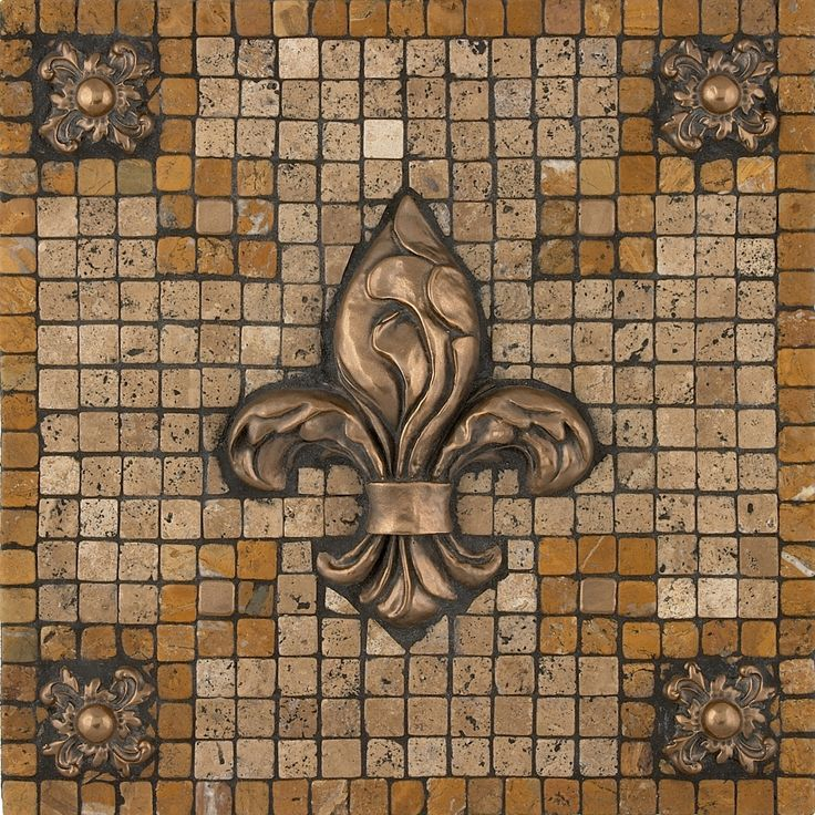 Kitchen Backsplash Medallions 266 best kitchen backsplash & floor tile images on pinterest