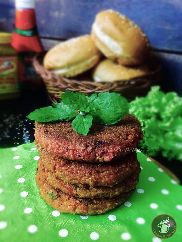 Cracked Wheat And Cottage Cheese Burger Patties/Dalia And Paneer Veggie Burger Patties A delicious ,nutritious and innovative option for burgers, pita pockets or wraps. A healthy option for a kids lunchbox or for a Sunday brunch at home.