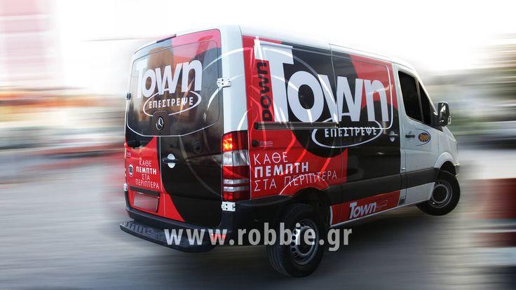 Άργος - Downtown / Σήμανση οχημάτων // #Αυτοκόλλητα_Vector #Μερική_Κάλυψη #Προωθητικά_Οχήματα #Σήμανση_Οχημάτων #Ψηφιακές_Εκτυπώσεις #robbieadv