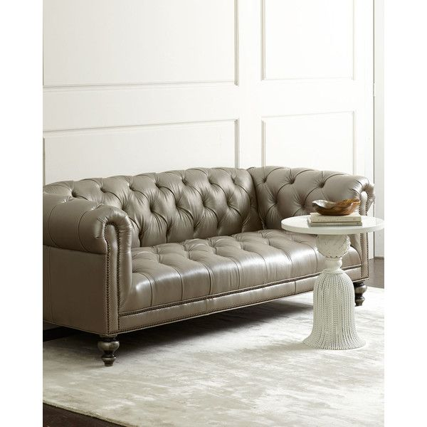 Old Hickory Tannery Lenoir Yellow Sofa: Best 25+ Grey Tufted Sofa Ideas On Pinterest