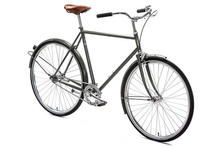 Relaxed, smooth commuter            Upright riding position           Perfect for shorter distances           Coaster / rim brakes