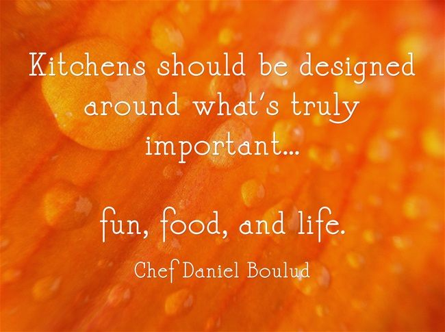 Kitchens Should Be Designed Around What S Truly Important Fun Food And Life