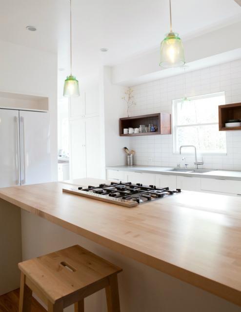 open box shelves, thick wood. 62nd Street, Medium Plenty | Remodelista Architect / Designer Directory