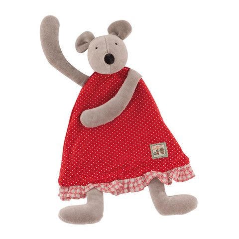 Nini the Mouse Baby Comforter from Moulin Roty