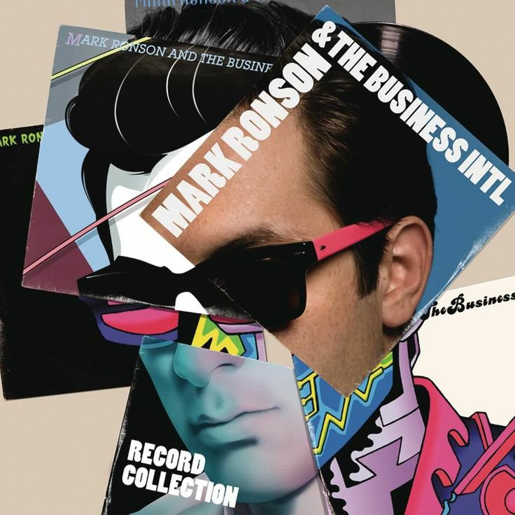 2010 Mark Ronson & The Business Intl - Record Collection [RCA 88697736332] Imagery: Alexie Hay, Jasper Goodall, Jesse Auersalo, Markus Karlsson, Mat Maitland, Parra, Will Sweeney #albumcover
