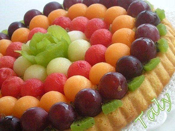 #Californiana con ball di #frutta