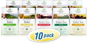 My Favorite Tea....Organic Tulsi Tea is a stimulating drink that helps you beat stress and fight free radicals, among other tulsi tea benefits.* http://organicindia.mercola.com/tulsi-tea.aspx
