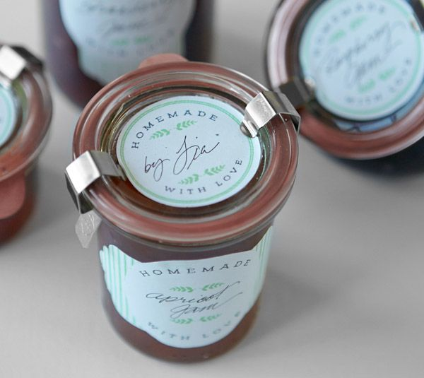 diy print then cut jar labels by lia griffith and