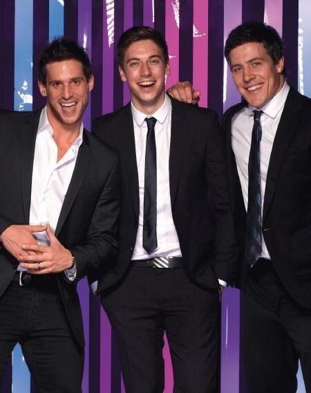 Dan, Lincoln and Steve (Heath, Casey and Brax)