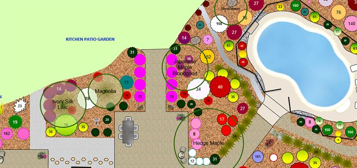 Simple instructions on how to make your own Garden Design Plan with excel and no other fancy garden design software.