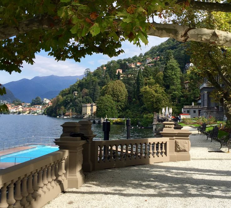 """@TravelExecutive """"While we both were still speechless by the size of the hotel grounds and the breath-taking lake views, our car doors opened and each of us was greeted with a nice: """"Benvenuti at CastaDiva!"""" What a wonderful review: http://bit.ly/1NxO5BL"""