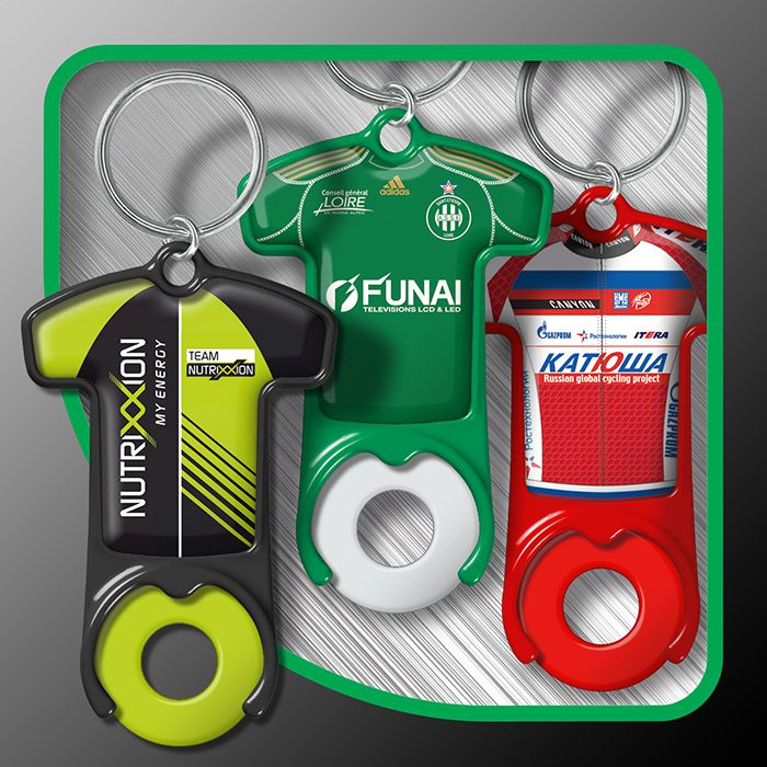 Keyrings with token (t-shirt)
