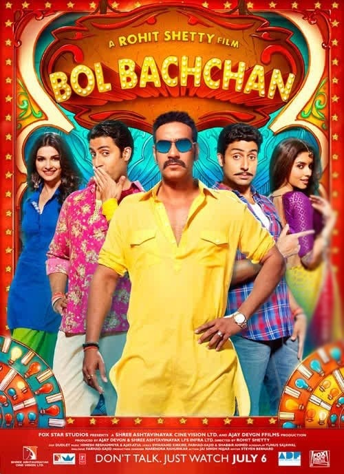 Bol Bachchan, Great Comedy. Abhishek Out does everyone. Great acting. Must watch 2012