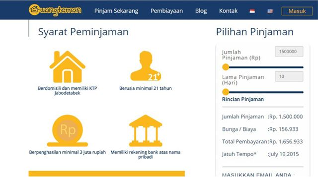 UangTeman.com Solusi Bagi Kebutuhan Tak Terduga | Majalah Kartini