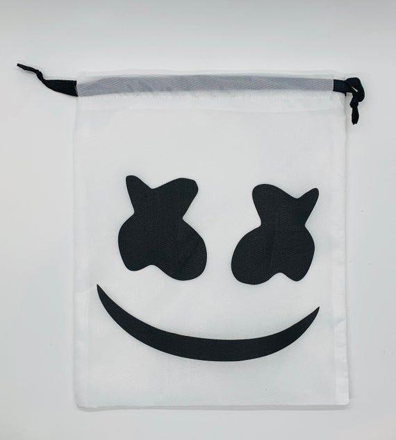 RUCKSACK BACKPACK BAG Marshmello DJ Mellow Dance House Music Tour DotCom EDM UK