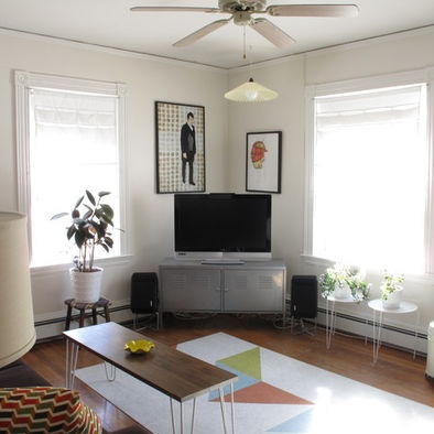 Living Room Corner Tv Design, Pictures, Remodel, Decor and Ideas - page 2