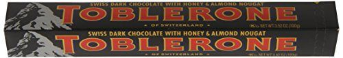Toblerone Chocolate Bar, Dark, 3.5 Ounce (Pack of 20) - http://bestchocolateshop.com/toblerone-chocolate-bar-dark-3-5-ounce-pack-of-20/