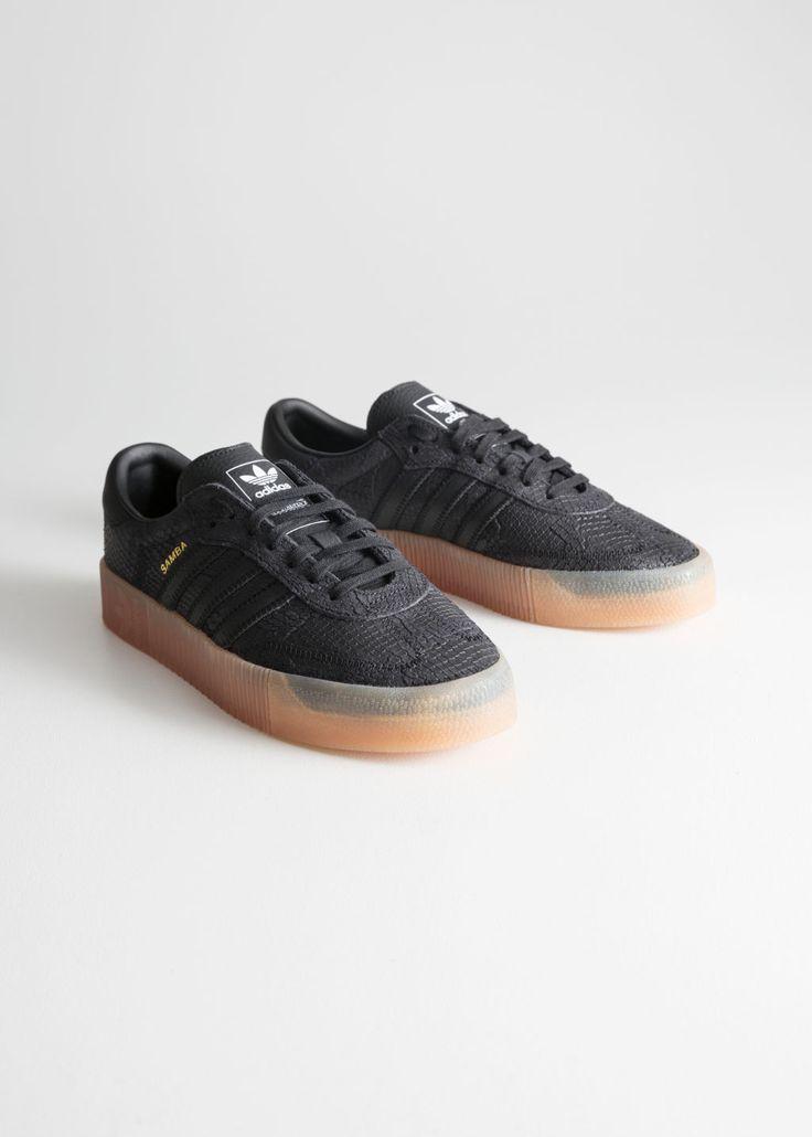 adidas Sambarose   Black adidas, Adidas, Adidas three stripes
