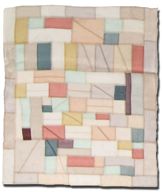 Reminds me of the traditional Korean patchwork.  Pretty!