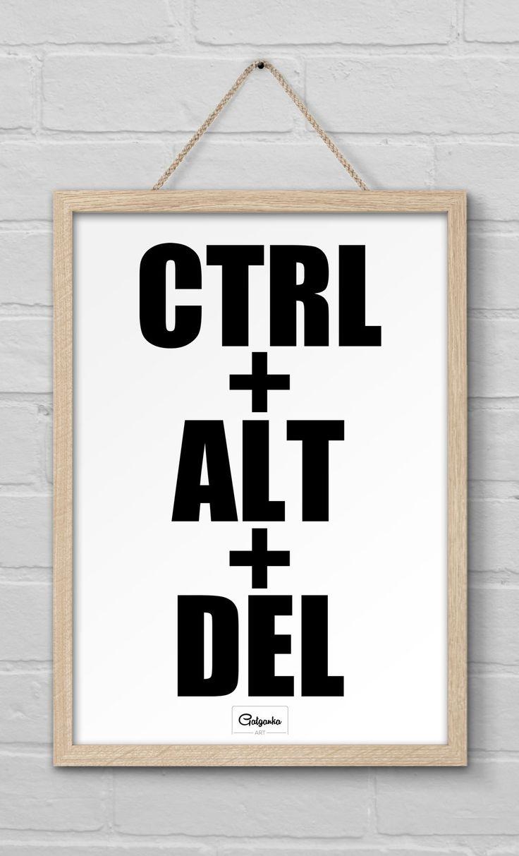 Poster CTRL   ALT   DEL