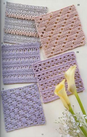 262 lovely crochet patterns