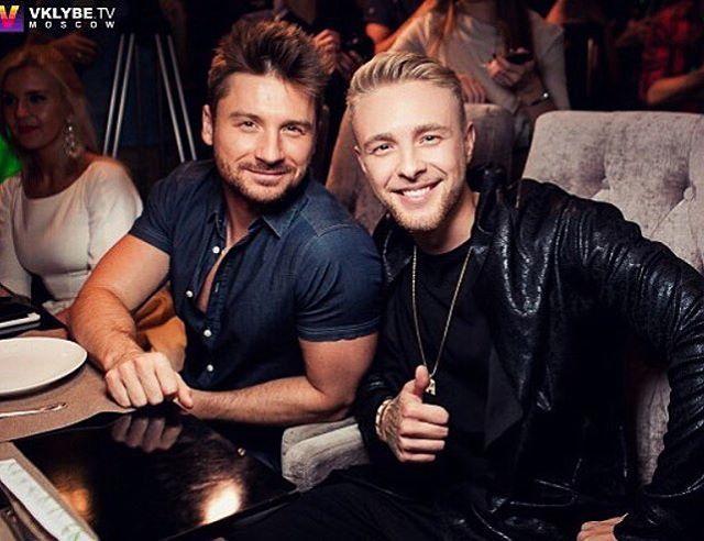 Sergey Lazarev and Egor Kreed