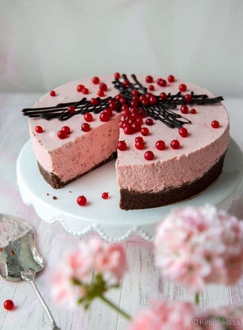 Punaherukkajuustokakku