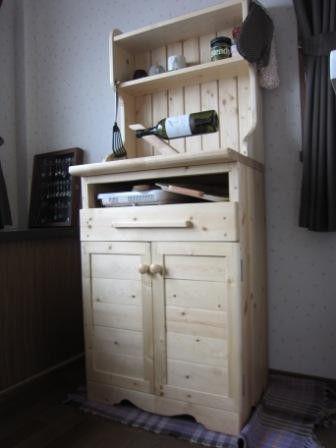 初めてのカップボード製作にしては満足雑誌の特集を参考製作製作途中で材料費枯渇で古い木材使用。|ハンドメイド、手作り、手仕事品の通販・販売・購入ならCreema。