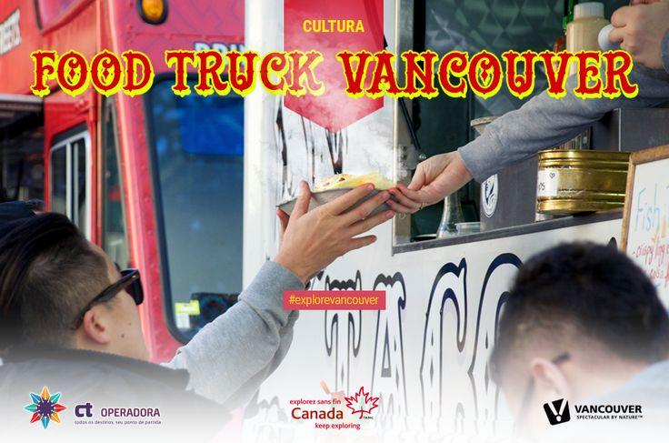 """Uma das principais referências de """"Food Truck"""" está em Vancouver. A cidade não é só famosa por seus pontos belíssimos, mas também pela quantidade e qualidade de suas barraquinhas de comidas, que atrai até famosos para o local. Você encontrará diversas e criativas comidas, como o Japadog, considerado o """"marco zero"""" da comida de rua, que nada mais é a mistura do delicioso cachorro quente com a saborosa comida japonesa."""