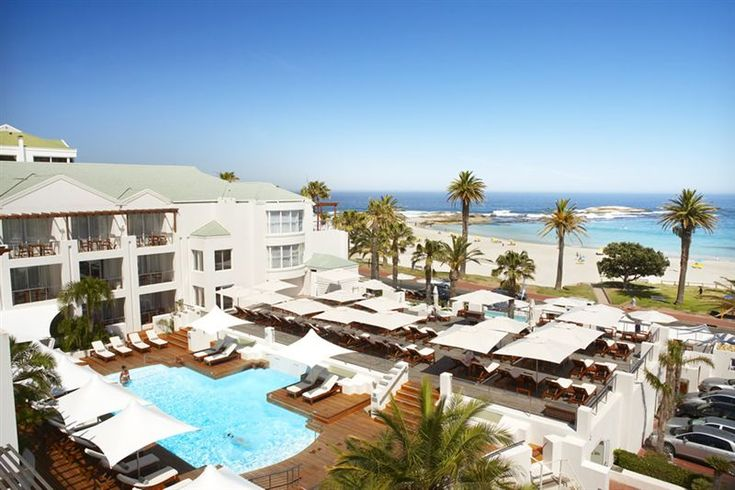 The Bay Hotel - A distinctive blend of sophisticated elegance and casual comfort. Overlooking a palm-fringed beach, and nestled under the Twelve Apostles mountain range, the Bay Hotel offers luxury comfort in a paradisical ... #weekendgetaways #campsbay #southafrica