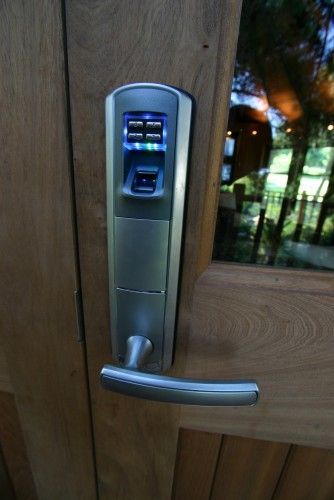 What? a fingerprint lock by Blue Forest
