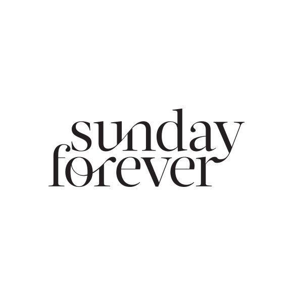 One of our favourite unused logos for Sunday Forever #Logo #MadeBySmackBang #SmackBangDesigns