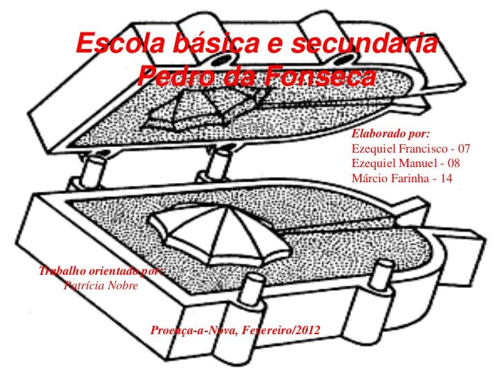 Escola básica e secundaria          Pedro da Fonseca                                 Tema:               Elaborado por:   ...