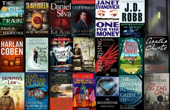 Love a good MYSTERY? Enter to win one of THREE possible prizes:  10 Paperback Mysteries 5 Paperback Mysteries 5 Paperback Mysteries