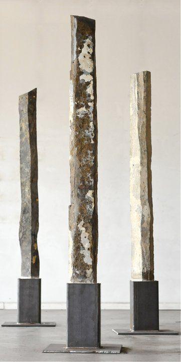 Rob Key basalt sculptures
