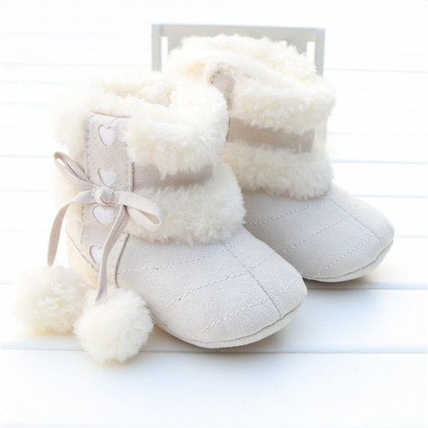 Зимняя половина подошвой обуви для мужчин и женщин 0-1 лет ребенок ребенка мягкой подошве короткие сапоги 356 789 месяцев прилива