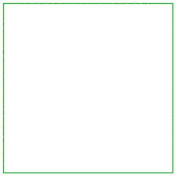 Curva di Koch: quadrato con iterazione triangolare