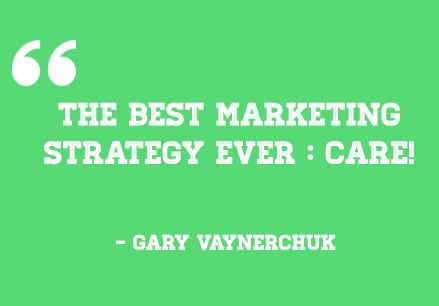 The best marketing strategy, Ever! See more at http://madmarketr.com/best-inspiring-marketing-quotes/