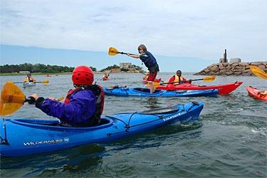 kayak boston 4th of july