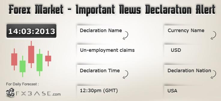 News alert forex