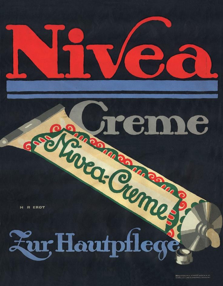 NIVEA Retroanzeige - 1912. #nivea #retro