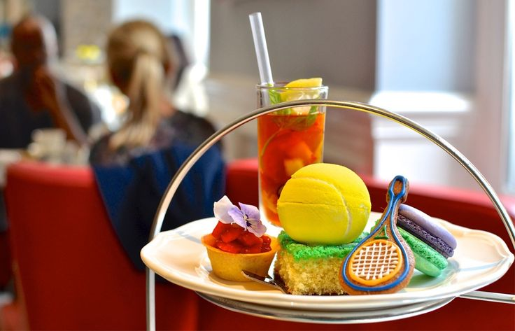 A Wimbledon Themed Afternoon Tea at The Ampersand Hotel, London
