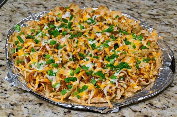 Restaurant Style Ultimate Chicken Nachos | I Love Food ...