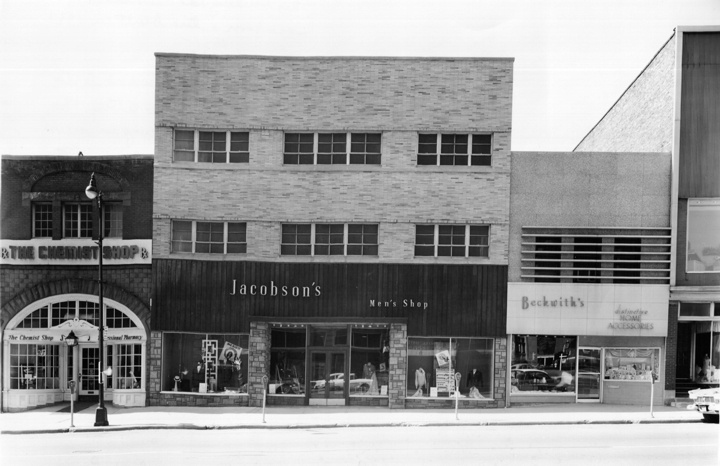jacobsons department store jackson mi use to shop here as a kid home sweet home jackson. Black Bedroom Furniture Sets. Home Design Ideas