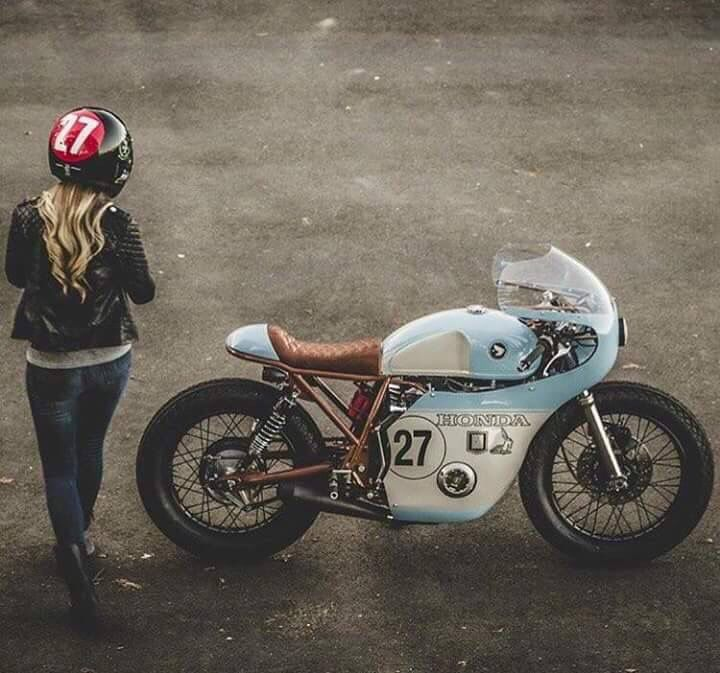Honda vintage racer custom                                                                                                                                                      More